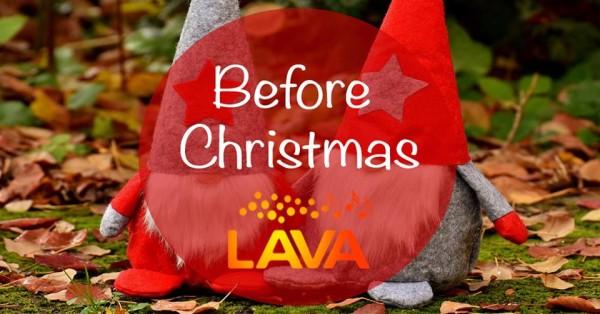 before christmas Kören LAVA
