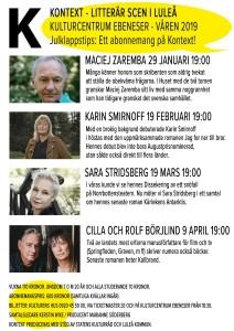 MALL FLYER KONTEXT VÅR 2019